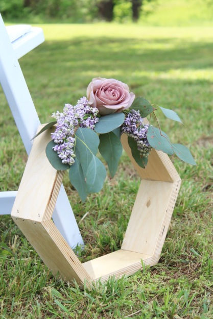 Chattanooga Wedding Flowers | Hexagon Shelves | Lang Floral Designs | Tennessee