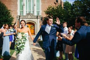 White and Greenery Cascading Bouquet | Chattanooga Wedding Florist | Lang Floral Designs | Tennessee Wedding Flowers