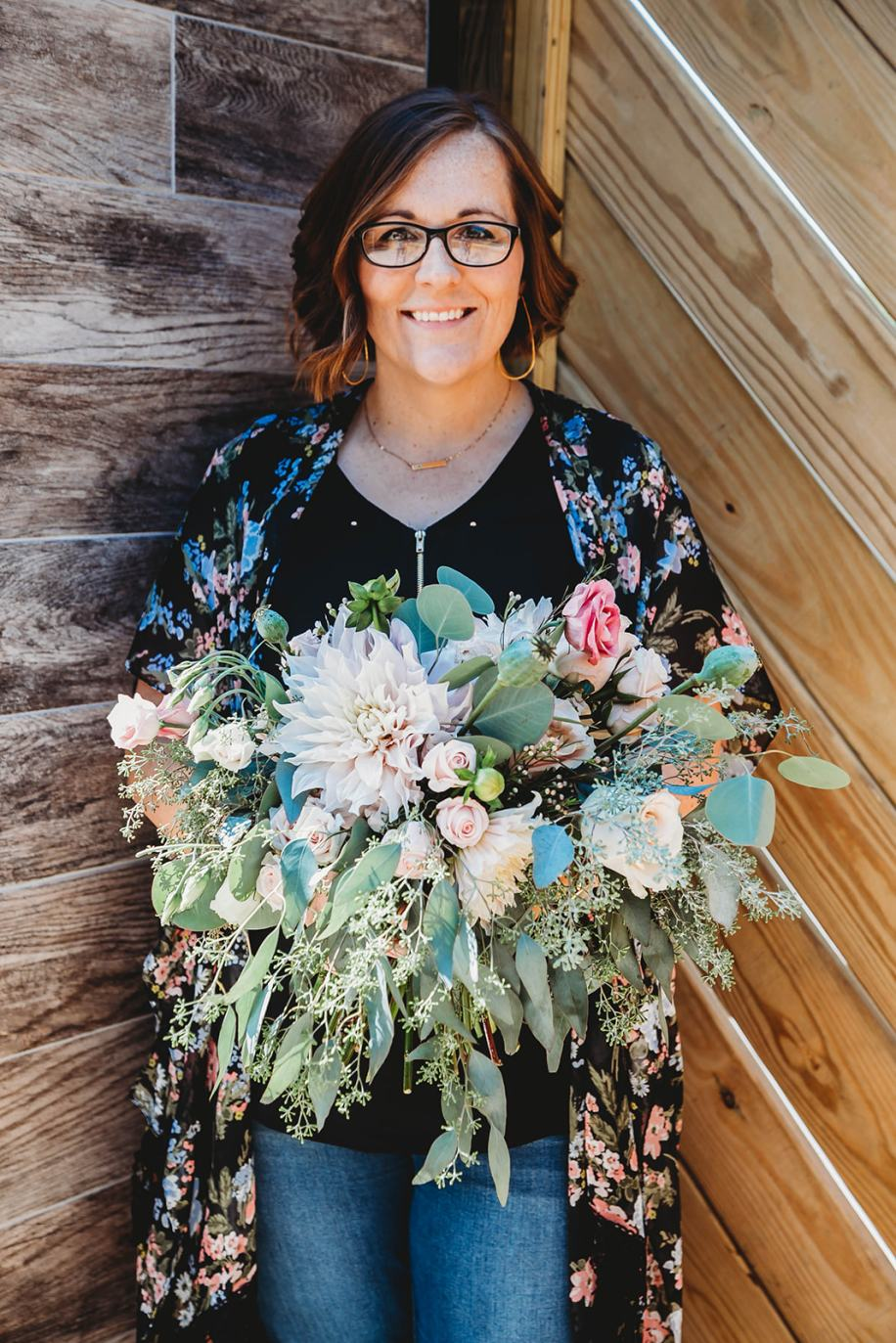 Stephanie Lang, owner, lead florst at Lang Floral Designs, Chattanooga