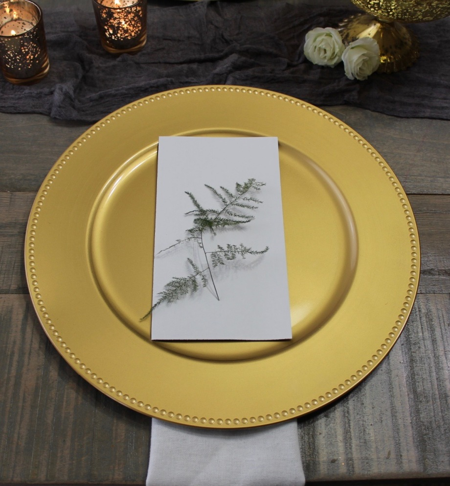 Rental_Decor_Gold_Chargers_2_Chattanooga_Wedding_Florist_Lang_Floral_Designs